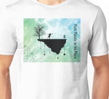 Putt Plastic In Its Place Unisex T-Shirt