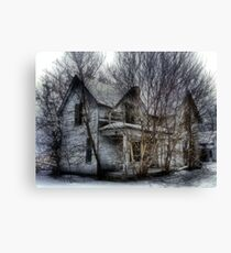 Abandoned Tree House Canvas Print