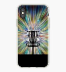 Disc Golf Basket Silhouette iPhone Case