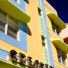crescent building, south beach, florida by brian gregory