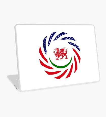 Welsh American Multinational Patriot Flag Series Laptop Skin