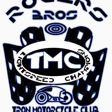 tron lightspeed champions tshirt by tron2010