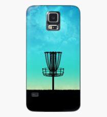 Funda/vinilo para Samsung Galaxy Disc Golf Basket Silhouette