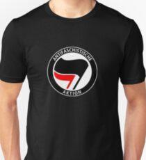 Antifa Anti-Facism Plitical Tee Shirt Slim Fit T-Shirt