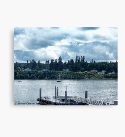 Leaving Kingston in the Dim Daylight Canvas Print