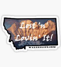 Montana Mission Mountains Sticker