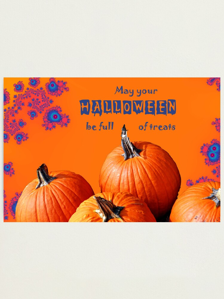 Alternate view of Halloween Card 2010 Photographic Print