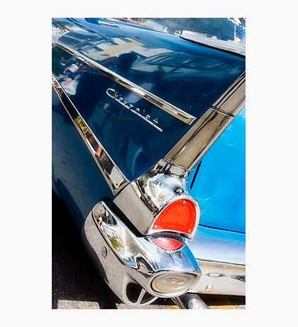 chevy fins Photographic Print
