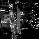 City Lights in B&W by PPPhotoArt