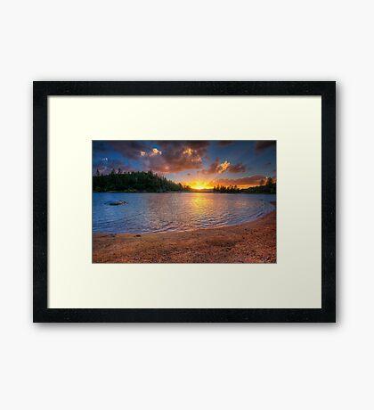 Beachfront Property Framed Print