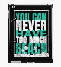 Tropical Beach quote iPad-Hülle & Klebefolie