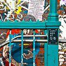 Subway Entrance, Brooklyn, New York by EWNY