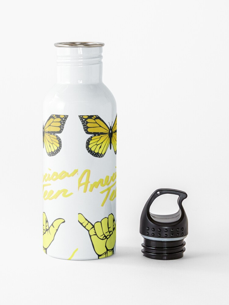 Alternate view of Yellow aesthetic Pack Water Bottle