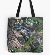 Lace Monitor. Tote Bag