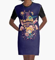 Hero's Awakening Graphic T-Shirt Dress