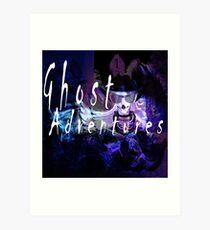 Ghost Adventure Art Print