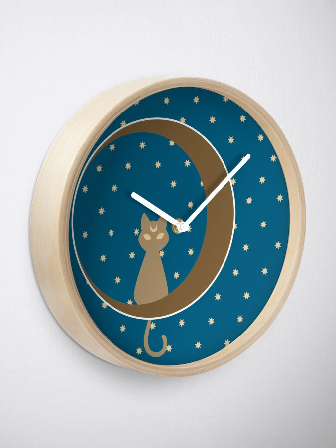 Alternate view of Luna Clock