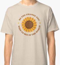 Be the Change (Ashley Scott Designs) Classic T-Shirt