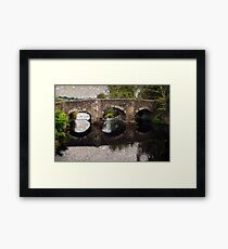 Coly Bridge Framed Print