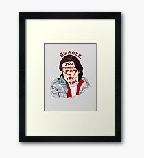 You Couldn't Ignore Me if You Tried [iPhone / iPod case / Print] Framed Print