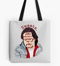 You Couldn't Ignore Me if You Tried [iPhone / iPod case / Print] Tote Bag