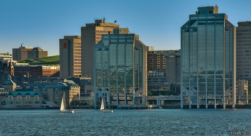Twin Purdy Towers of Halifax by kenmo