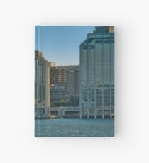 Twin Purdy Towers of Halifax Hardcover Journal