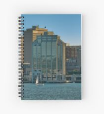 Twin Purdy Towers of Halifax Spiral Notebook