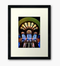 Master Glass - QVB, Sydney - The HDR Experience Framed Print