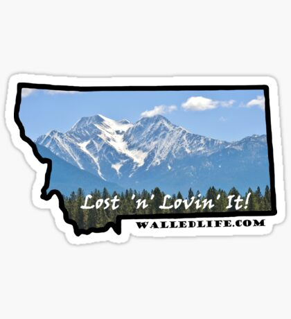 Montana Inspirational View Sticker