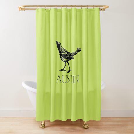 Austin Grackle Shower Curtain