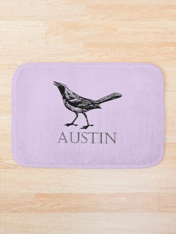 Austin Grackle Bath Mat