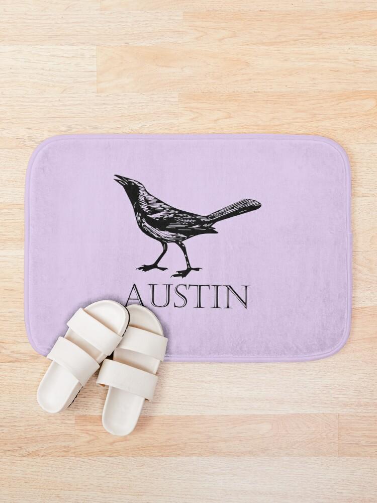 Alternate view of Austin Grackle Bath Mat