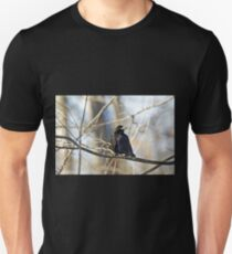 American Crow  - Corvus brachyrhynchos T-Shirt