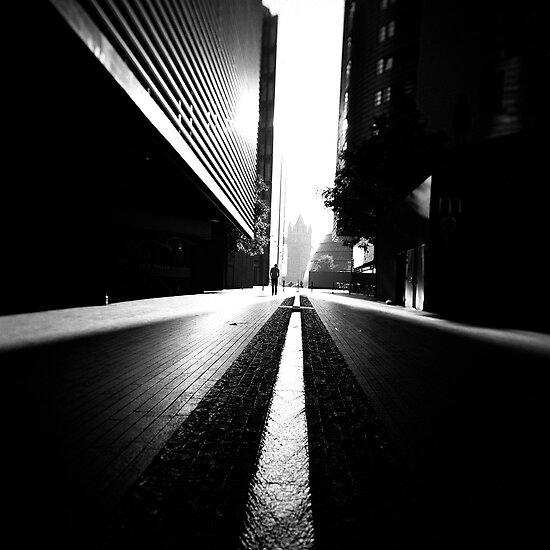 More London shadows by Craig  Roberts