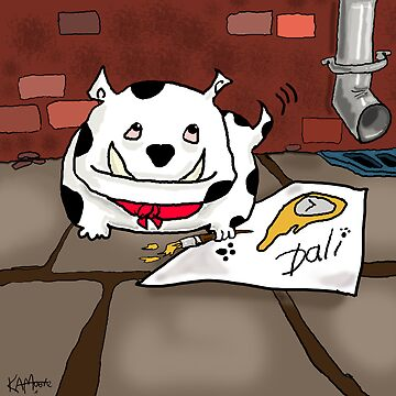 Dali the Dog by KevMoore