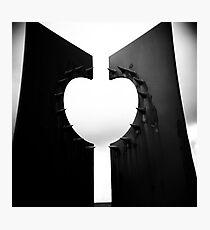 Apple Heart Photographic Print