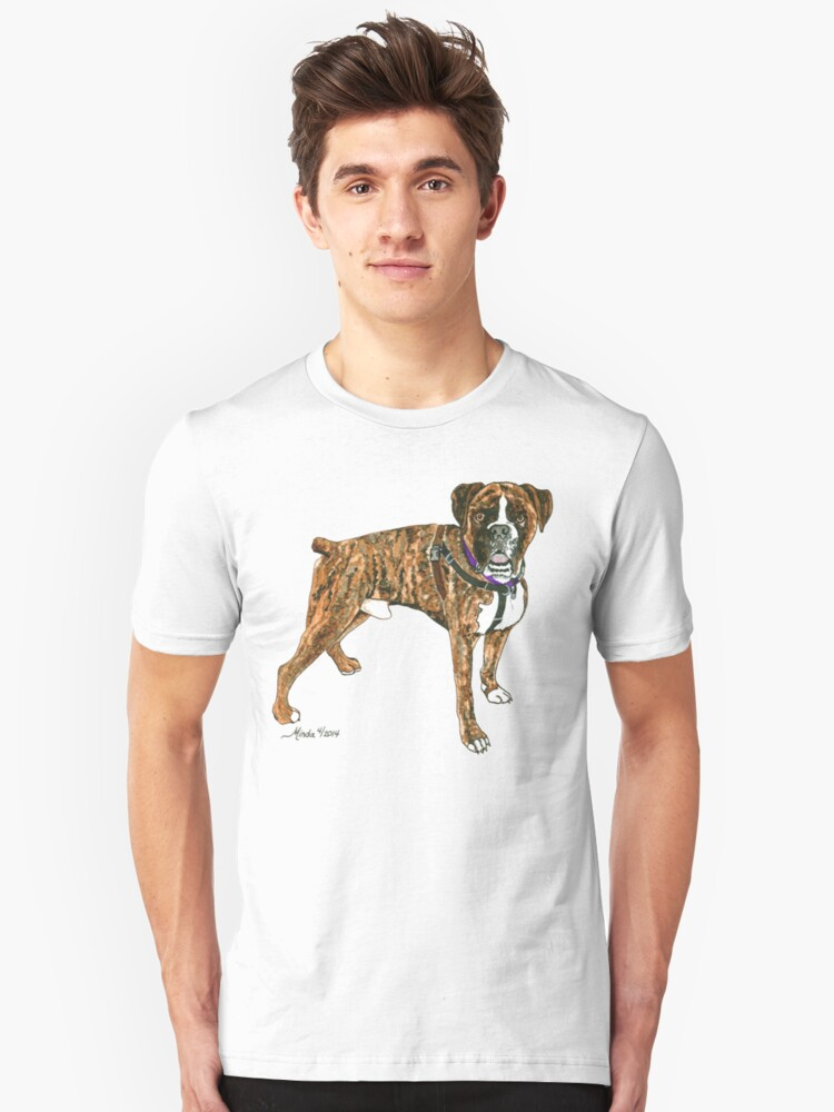 Daily Doodle 25- Power - Boxer, Boyd Unisex T-Shirt Front