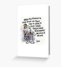 Marsha Greeting Card