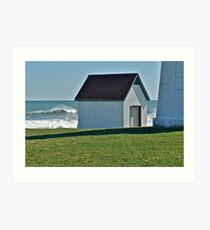 Hurricane Igor - Point Judith - Rhode Island *featured Art Print