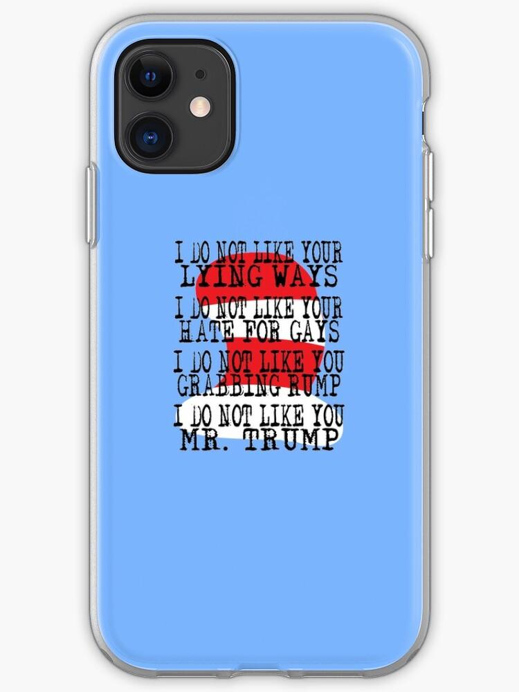 Donald Trump HATE iphone case