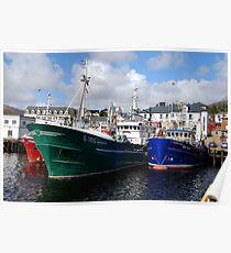 Killybegs Trawlers Poster