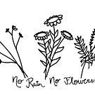 Kein Regen, keine Blumen von maddy-drye