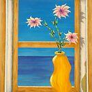 Yellow Vase by Allegretto