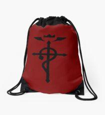 Fullmetal Alchemist - Flamel Insignia (Black) Drawstring Bag