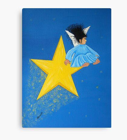 Ride A Shooting Star Canvas Print