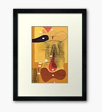 Topography of the Sexually Dimorphic Structures in the Hypothalamus Framed Print