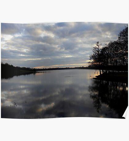 Gulladoo Lake at sunset Poster