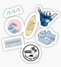 Blue Vsco Sticker pack Sticker