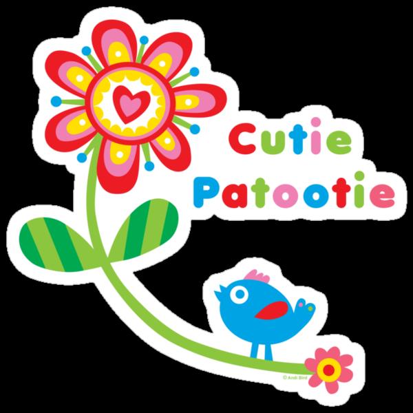 Cutie Patootie - on lights by Andi Bird